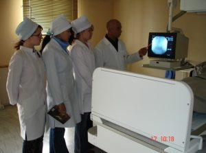 Рентгенологик текширувлар бўлимида